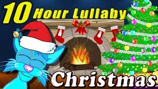 10 Hour Christmas Lullaby Cartoon Relaxing Music Lullabies For Babies To Go To Sleep
