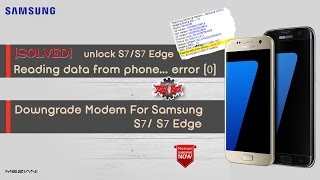 How To Fix   Reading data from phone    error (0) try Downgrade