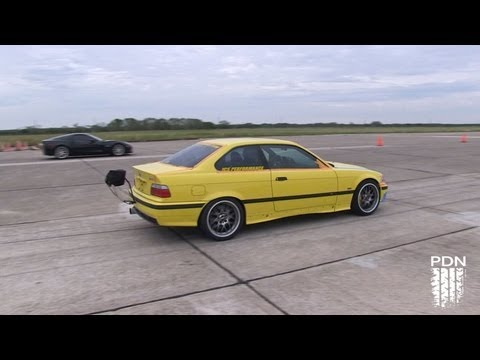 Incredibly Fast 223mph BMW - Texas Mile