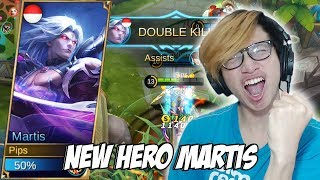 NEW HERO MARTIS FIGHTER MAMANG ASHURA KING - MOBILE LEGENDS INDONESIA