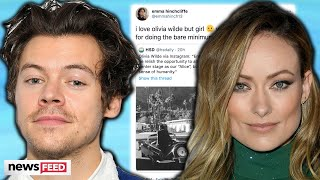 Olivia Wilde DRAGGED For Gushing Over Harry Styles!
