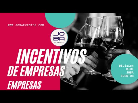 Incentivos de empresa by JOBA Eventos