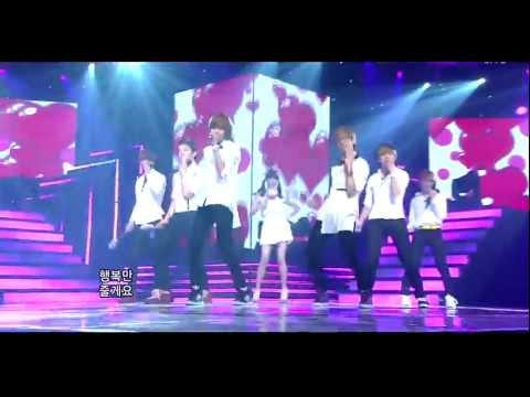 Teen Top and IU  - SNSD (소녀시대) Kissing You HD