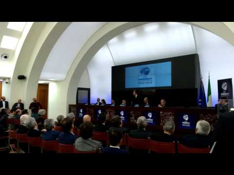 Il ministro Luca Lotti presenta gli Europei Under 21