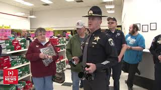 Cop hijacks intercom at local Kmart for unexpected announcement