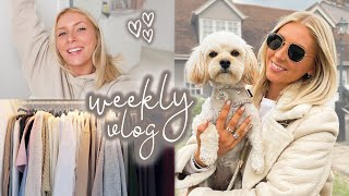decluttering my summer wardrobe & an exciting sneak peek 👀🥰 weekly vlog! AD