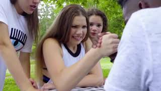 Haschak Sisters - Like a Girl and PonyTail - ( Official Music Video ) - Together