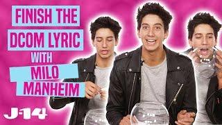 Milo Manheim Plays Finish The DCOM Lyric —ZOMBIES, Descendants, and More!