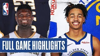 PELICANS at WARRIORS | FULL GAME HIGHLIGHTS | February 23, 2020