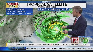 8 p.m. Thursday Hurricane Florence Update