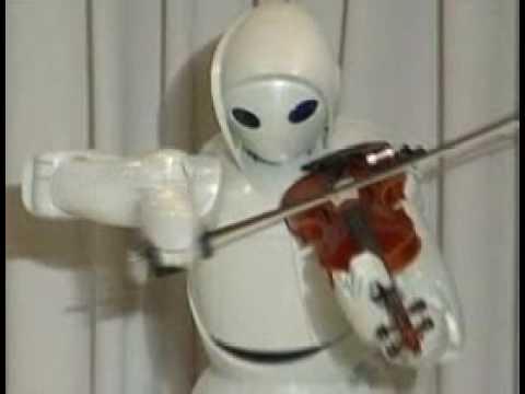 ROBOT PLAYS VIOLIN - Amazing!!!