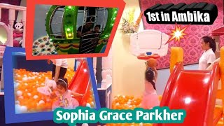 "SOPHIA GRACE PARKHER""S THROWBACK first time playing in ambika"