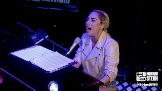 "Lady Gaga ""Million Reasons"" on the Howard Stern Show (2016)"