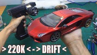 Độ xe điều khiển Thường thành xe Drift điều khiển từ xa