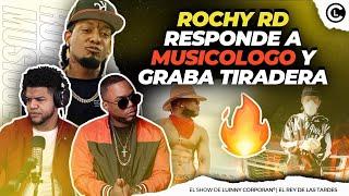 "ROCHY RD LE RESPONDE A MUSICOLOGO EL LIBRO ""ESTA GRABANDO TIRADERA CON LEO RD"" DETALLES!!"