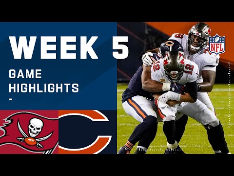 Buccaneers vs. Bears Week 5 Highlights | NFL 2020