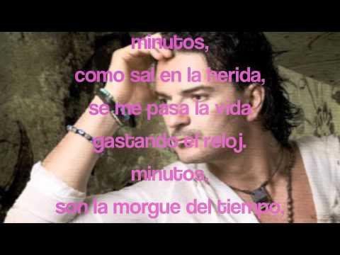 Ricardo Arjona- Minutos (letra)