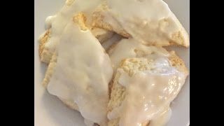 EASY LEMON SCONES FROM SCRATCH - HOME MADE  - SIMPLE - CHEF LORIOUS