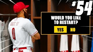 I THINK ITS TIME TO RESTART! MLB The Show 21 | Road To The Show Gameplay #54