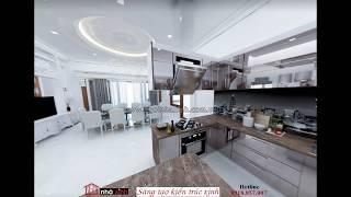 NGÔI NHÀ XINH - mẫu thiết kế nội thất phòng bếp