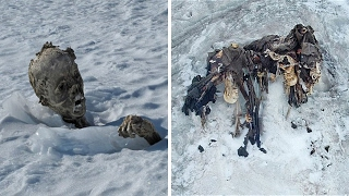 5 Terrifying & Creepy Things That Were Discovered Frozen In Ice!