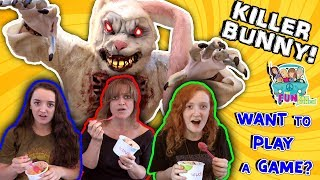 FUNNY SKIT BUNNY... IN THE WOODS REVENGE...PRANK, FUNKEE BUNCH DOES IT AGAIN!!