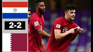 Paraguay vs Qatar 2-2 All Goals & Extended Highlights 2019 HD Copa America