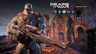 Gears of War 4 September update brings maps and more