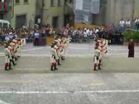 Musici Inno Monci Giostra 2 Settembre 2007