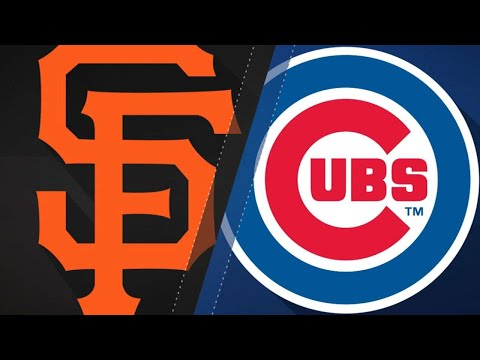 Chicago Cubs vs San Francisco Giants