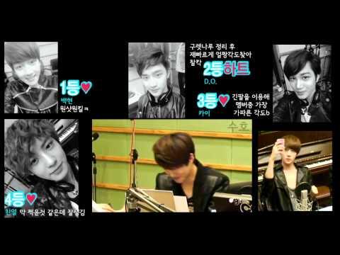EXO-K 멤버들의 셀카 실력 (self camera skill)