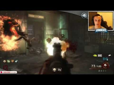 Mob Of The Dead - Round 35 Speed Run! Gameplay/Tutorial! W/Syndicate! - Smashpipe Games