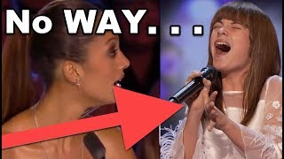 No WAY! 13 Y.O. Girl SHOCKS EVERYONE! GOLDEN BUZZER Act???