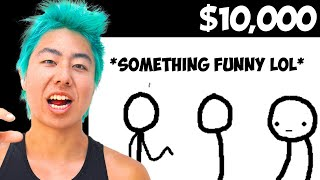 Make The Funniest Comic, I'll Buy You Anything! | ZHC Crafts