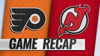 Konecny, van Riemsdyk propel Flyers past Devils