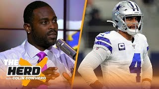 Michael Vick joins Colin to talk Dak's struggles and Lamar Jackson's regression   NFL   THE HERD