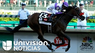 Mexicano gana el Derby de Kentucky