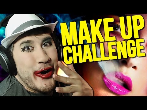 Impossible Let's Play: MAKE-UP CHALLENGE - Markiplier  - avzyihjAqSg -