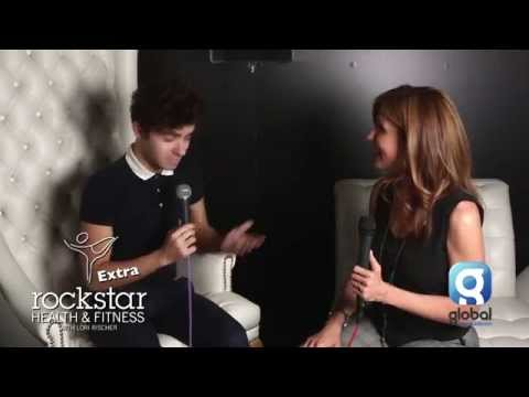 Rockstar Health & Fitness Extra with Lori Rischer Ft: Nathan Sykes