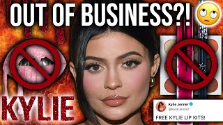KYLIE COSMETICS OUT OF BUSINESS?! 🥵