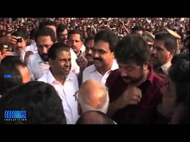 Thirunakkara Pakal Pooram became stage for candidates meet
