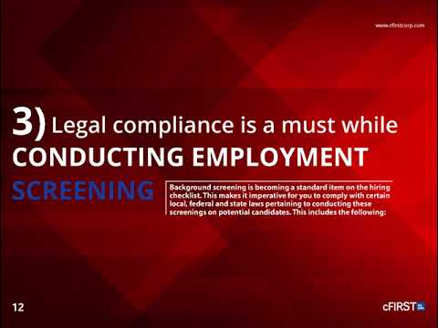 Pre-Employment Screening Best Practices – A Guide