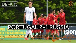 #U17 Highlights: Portugal 2-1 Russia
