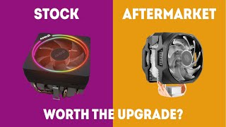 Stock CPU Cooler vs Aftermarket - Is Your Stock Cooler Good Enough? [Simple]