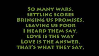 K'Naan - Wavin' Flag (lyrics) [HD]