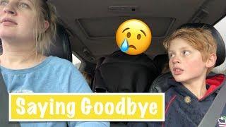 Saying GOODBYE For The Weekend | Australian Family Vlog