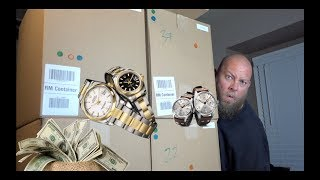 I bought a $1,592 Amazon Customer Returns Pallet/ Mystery Boxes + DESIGNER WATCHES & MORE!