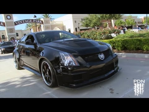 Hennessey Twin Turbo CTSV - Coffee and Cars