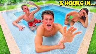 LAST TO LEAVE HOT TUB WINS $10,000!!