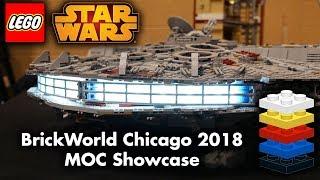 BrickWorld Chicago 2018 Star Wars MOC Showcase!